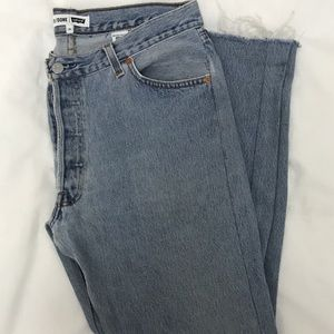 Re/done high waisted jeans
